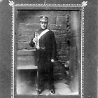 My Grandfather, Joshua Ramsden, as a Member of a Brass Band ca 1900 by Dennis Melling