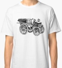 Old Vintage Antique Car Drawing #1 Classic T-Shirt