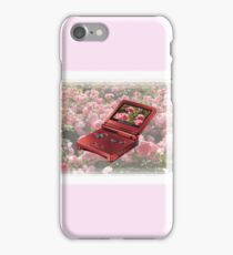 Rose Gameboy iPhone Case/Skin