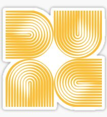 Dune Typographique Sticker