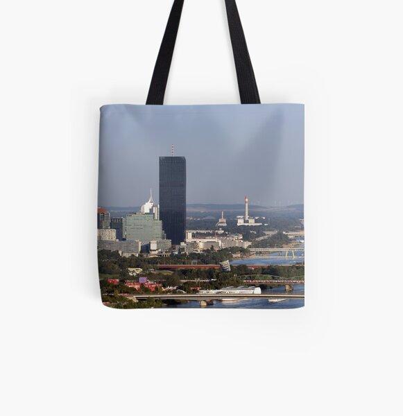 Donau City, Vienna Austria All Over Print Tote Bag