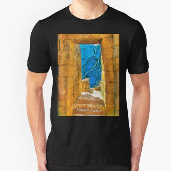 Machu Pichu Slim Fit T-Shirt