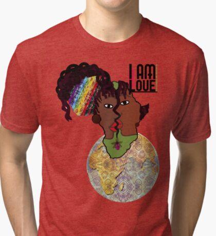 Zen I Am Sacral Flow  Tri-blend T-Shirt