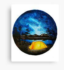 Enjoy the Outdoors Canvas Print