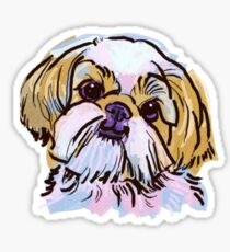 the Shih Tzu love of my life! Sticker