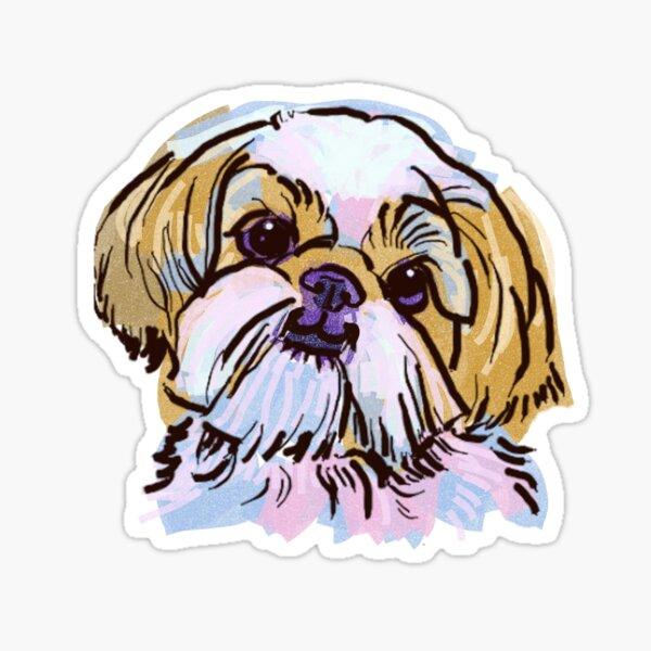 the Shih Tzu love of my life! Sticker