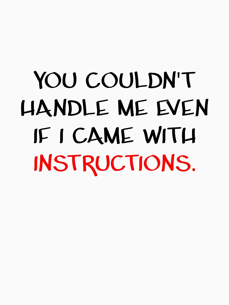INSTRUCTIONS QUOTE by MASQ