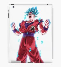Son Goku Super Sayan Blue iPad Case/Skin