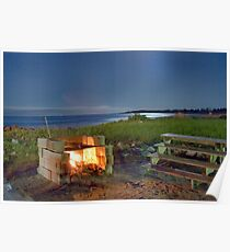 The Fire Pit Poster