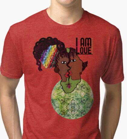 Zen- I Am Heart  Tri-blend T-Shirt