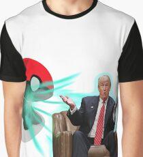 POKE BALL TRUMP Graphic T-Shirt