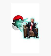 POKE BALL TRUMP Photographic Print