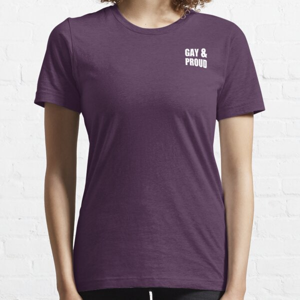 Gay and Proud Essential T-Shirt