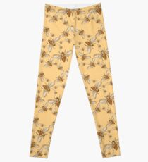 bees Leggings