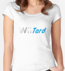 Wii Tard Women's Fitted Scoop T-Shirt