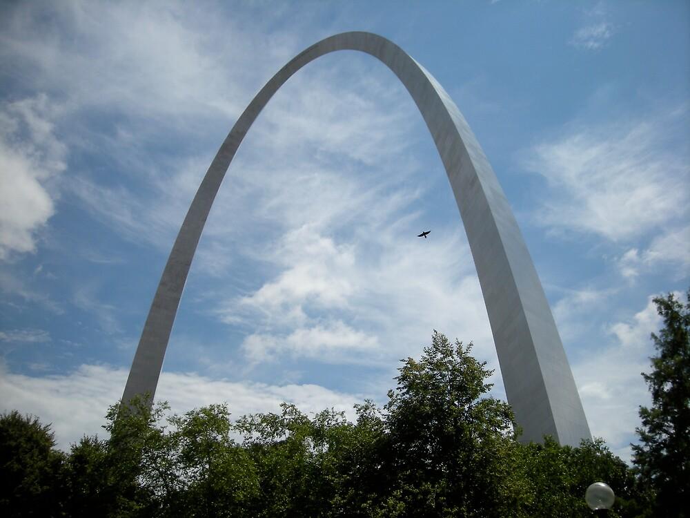 The Gateway Arch by Jim Caldwell
