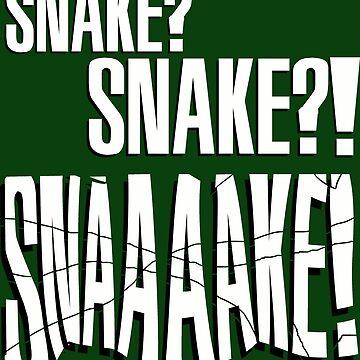 "Metal Gear Solid - ""Snaaaake!"" by Destinauts"