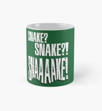 "Metal Gear Solid - ""Snaaaake!"" Mug"