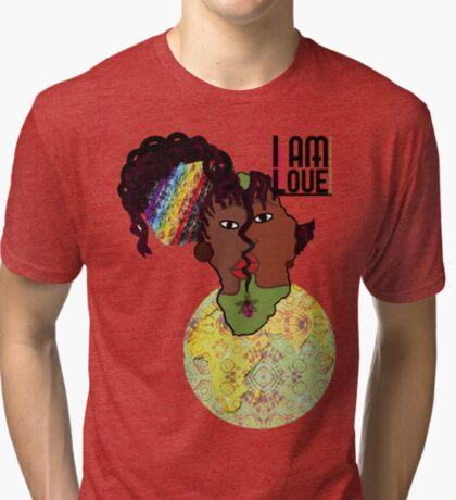 Zen- I Am Sun-Centered Tri-blend T-Shirt