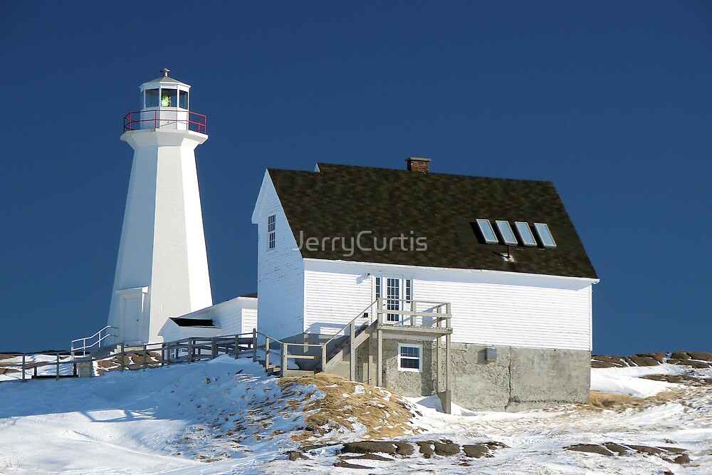 Cape Spear Lighthouse by JerryCurtis