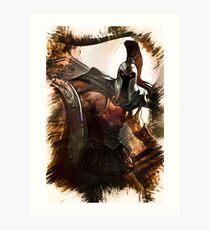 League of Legends PANTHEON Art Print
