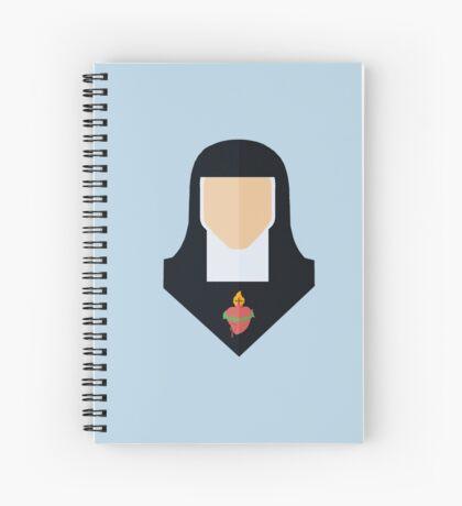 Saint Margaret Mary Spiral Notebook