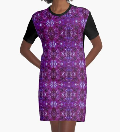 Zen I Am Crowned  Graphic T-Shirt Dress