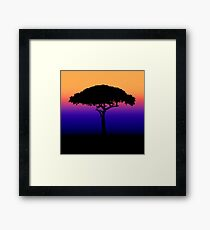 Solitary [Print and iPhone / iPad / iPod Case] Framed Print