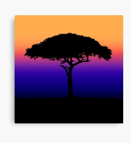 Solitary [Print and iPhone / iPad / iPod Case] Canvas Print