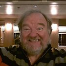 Me on the boat to a new life by Ken Tregoning