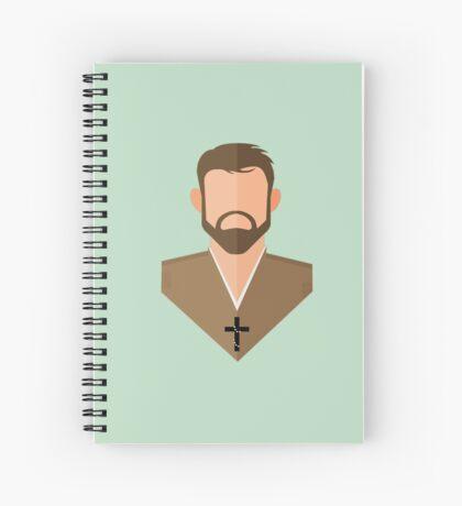 St. Benedict Joseph Labre Spiral Notebook