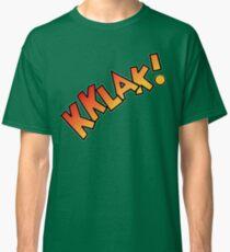 Doctor Who - Kklak! Dinosaur Invasion Pop Art Classic T-Shirt