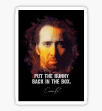 Bunny In The Box - Cameron Poe [CON AIR] Sticker