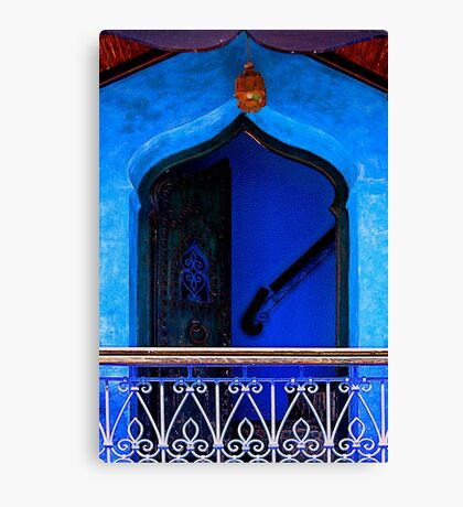 The Blue City III [Print & iPad Case] Canvas Print