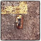 Litter imitating dereliction by Simon Harrison