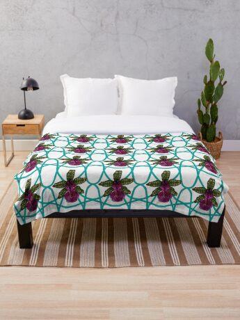 Maia's Dreamweaver  Throw Blanket