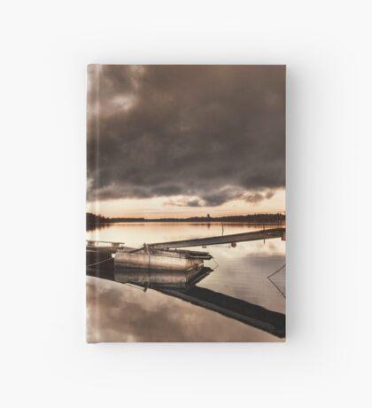 Orange-ish Hardcover Journal