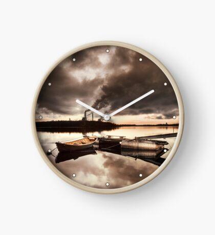 Orange-ish Clock