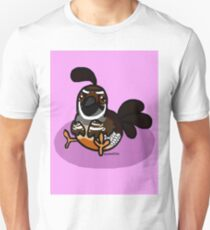Quail-ity Birb PastelPink T-Shirt