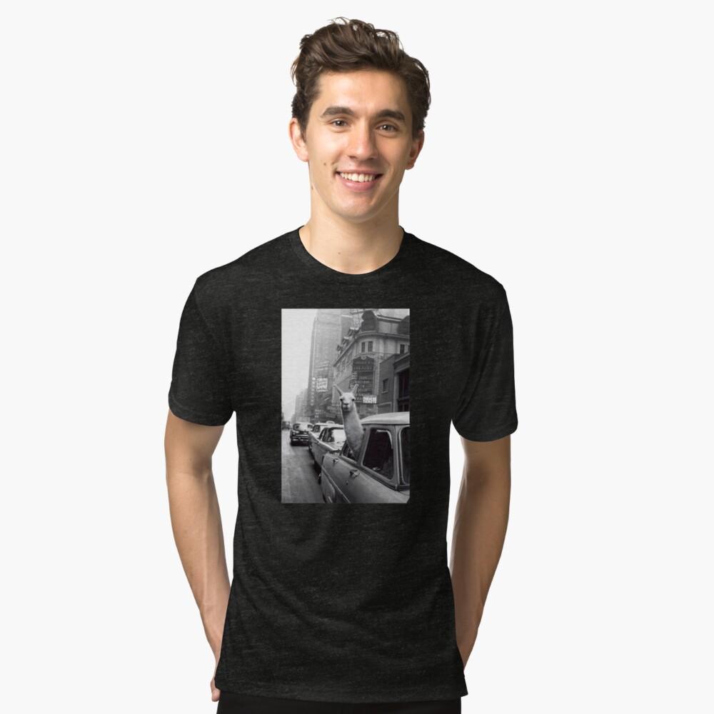 New York Lama Vintage T-Shirt