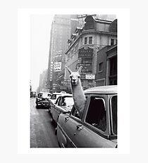 Lámina fotográfica Nueva York Llama