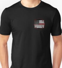 Thin Red Line - Fire Cross T-Shirt