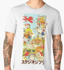 studio Ghibli Men's Premium T-Shirt