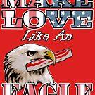 Liebe machen wie ein Adler mit Speck von electrovista
