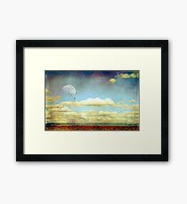 The Wide Open Road Framed Print