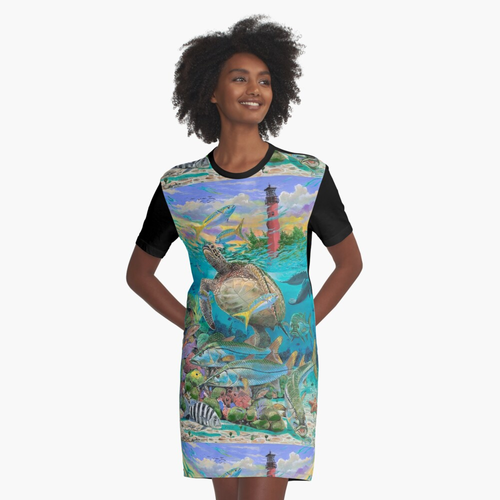 Jupiter Haven T-Shirt Kleid