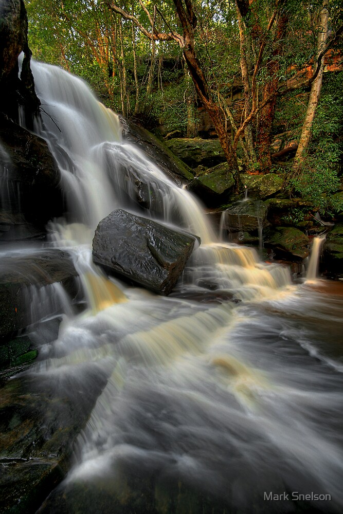 Lower Somersby Falls by Mark Snelson