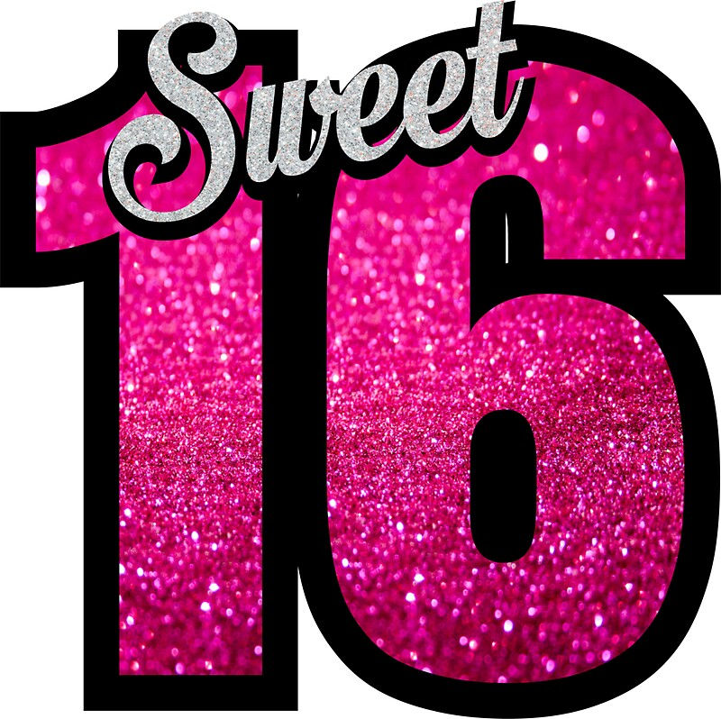 Pink number 16 images galleries with for Large cardboard cut out numbers