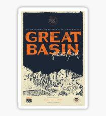 Great Basin National Park Nevada Vintage Travel Decal Sticker