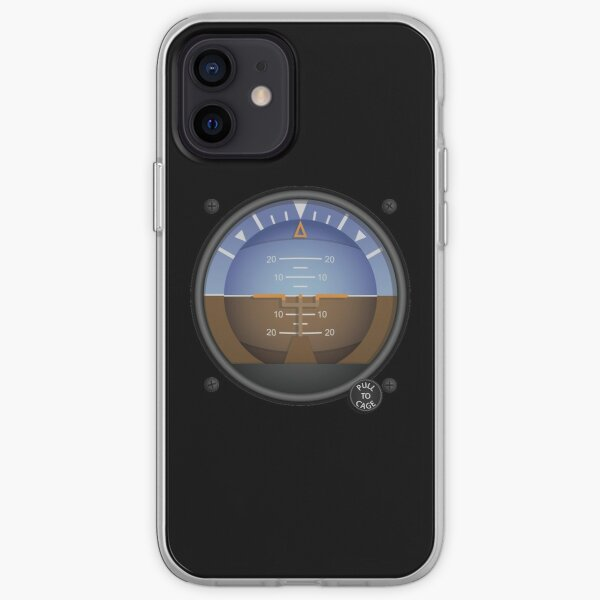 Attitude Indicator Flight Instruments iPhone Soft Case
